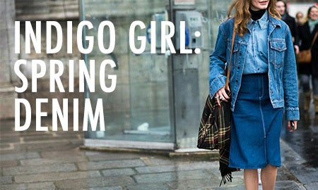 Indigo Girl: Spring Denim