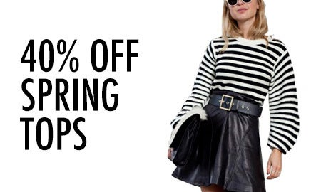 40% Off Spring Tops