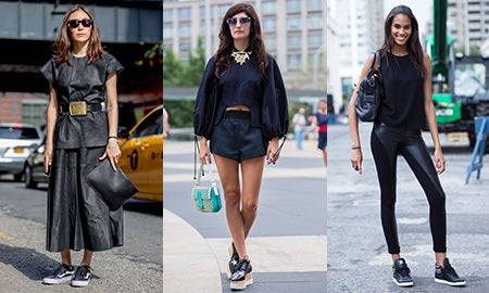 How To Wear: Dark Shades For Spring
