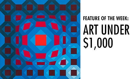 Feature Of The Week: Art Under $1,000