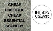 Text, Signs & Symbols