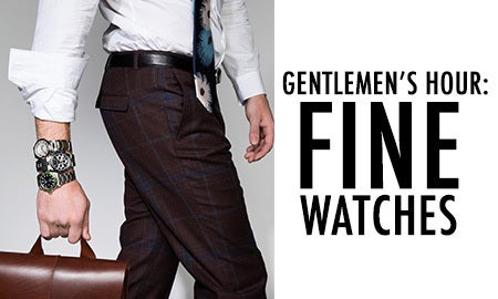 Gentlemen's Hour: Fine Watches