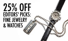 25% Off Editors' Picks: Fine Jewelry & Watches