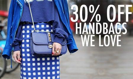 30% Off Handbags We Love