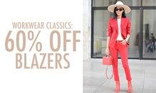 Workwear Classics: 60% Off Blazers