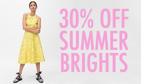 30% Off Summer Brights