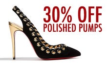 30% Off Polished Pumps