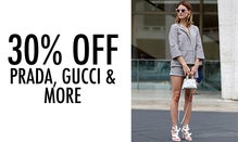 30% Off Prada, Gucci & More