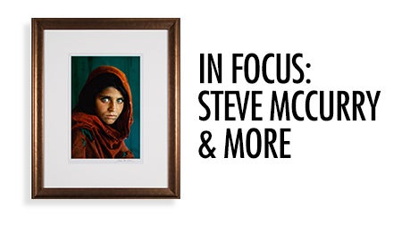 In Focus: Steve McCurry & More