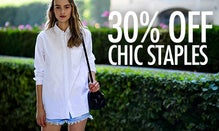 30% Off Chic Staples