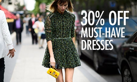 30% Off Must-Have Dresses