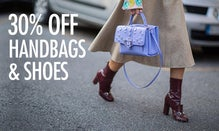 30% Off Handbags & Shoes