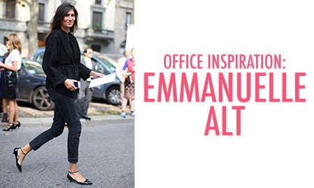 Office Inspiration: Emmanuelle Alt