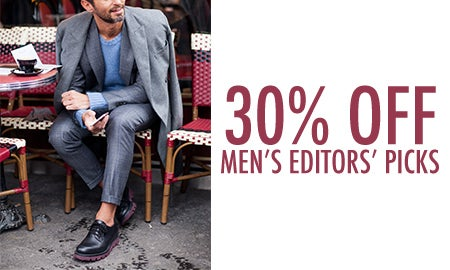 30% Off Men's Editors' Picks
