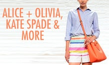 Alice + Olivia, Kate Spade New York & More