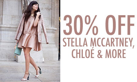 30% Off Stella McCartney, Chloé & More