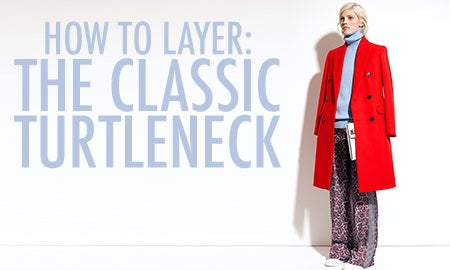How To Layer: The Classic Turtleneck