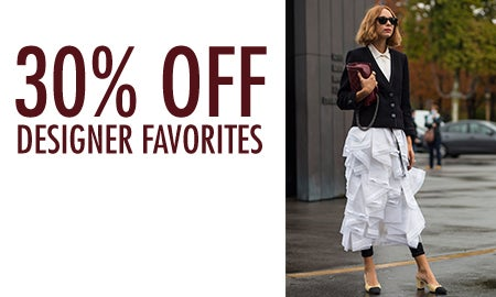 30% Off Designer Favorites: LV, Prada & More