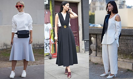 Seen On The Street: The Céline Look