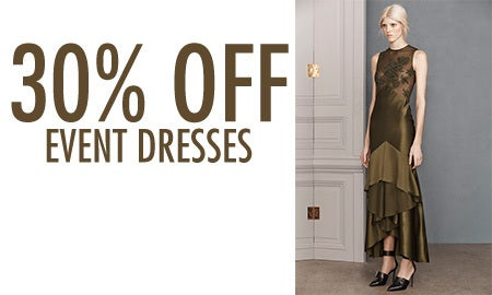 30% Off Event Dresses