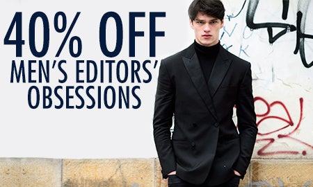 40% Off Men's Editors' Obsessions