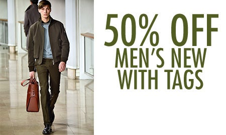 50% Off Men's New With Tags