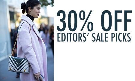 30% Off Editors' Sale Picks