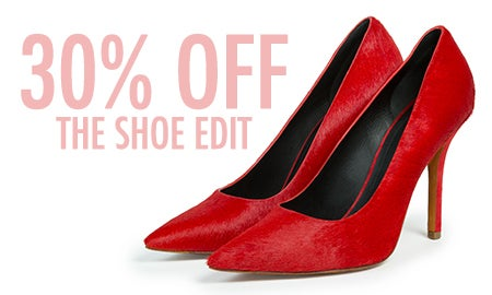30% Off The Shoe Edit