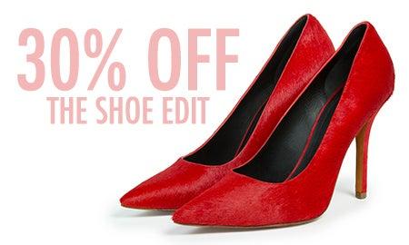 30% Off The Shoe Edit
