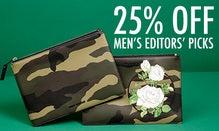 25% Off Men's Editors' Picks