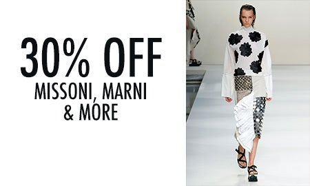 30% Off Missoni, Marni & More