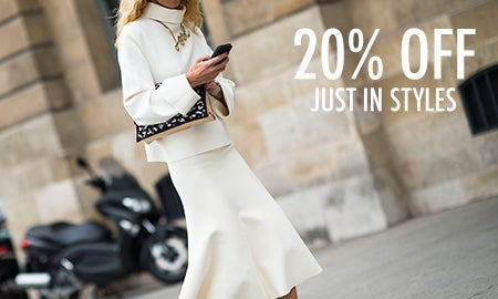 20% Off Just In Styles
