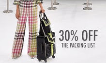 30% Off The Packing List: Resort Favorites