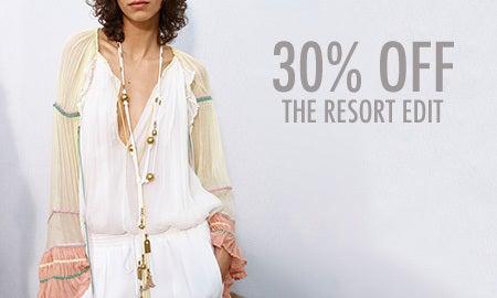 30% Off The Resort Edit