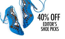 40% Off Editors' Shoe Picks
