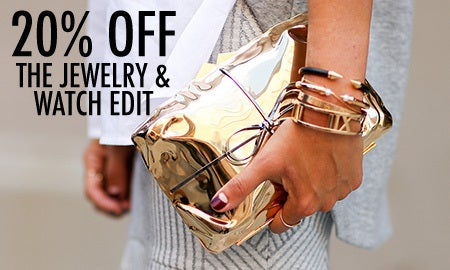 20% Off The Jewelry & Watch Edit