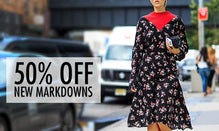 50% Off New Markdowns