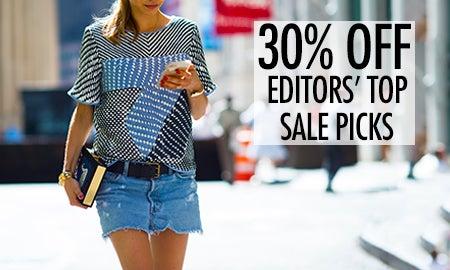 30% Off Editors' Top Sale Picks