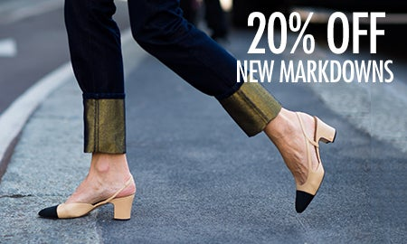 20% Off New Markdowns