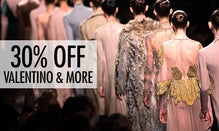30% Off Valentino, Manolo & More