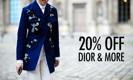 20% Off Dior, Prada & More