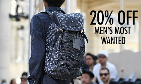 20% Off Men's Most Wanted