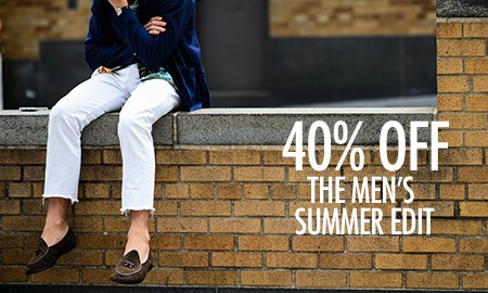 40% Off The Men's Summer Edit