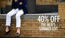 40% Off The Men's Summer Edit