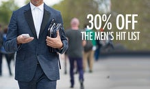 30% Off The Men's Hit List