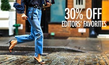 30% Off Editor Favorites