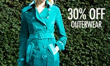 Buy Now, Wear Later: 30% Off  Outerwear