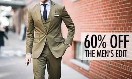 60% Off The Men's Edit