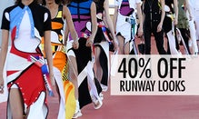 40% Off Runway Looks