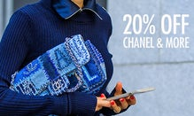 20% Off Chanel, Hermès & More
